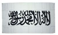 Fahne / Flagge Kalifat Islam Schahada weiß 90 x 150 cm