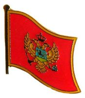 Flaggen Pin Montenegro NEU Fahne Flagge Anstecknadel