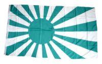 Fahne / Flagge Rising Sun grün / weiß 90 x 150 cm