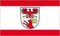Fahne / Flagge Müllrose 90 x 150 cm