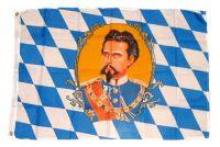 Fahne / Flagge Bayern König Ludwig 90 x 150 cm