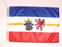 Bootsflagge Mecklenburg Vorpommern 30 x 45 cm