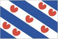 Fahnen Aufkleber Sticker Niederlande - Friesland