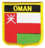 Wappen Aufnäher Fahne Oman