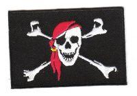 Aufnäher Patch Pirat Kopftuch