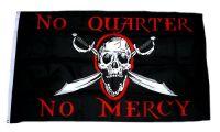 Fahne / Flagge Pirat No Quarter No Mercy 90 x 150 cm
