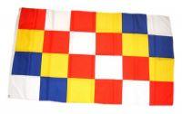Fahne / Flagge Belgien - Antwerpen 90 x 150 cm