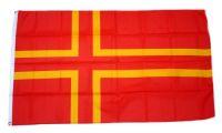 Fahne / Flagge Normandie St. Olavs Kreuz 90 x 150 cm