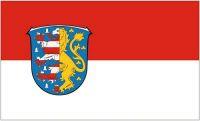 Fahne / Flagge Hochtaunuskreis 90 x 150 cm