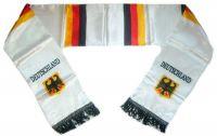 Fan Schal Deutschland weiß