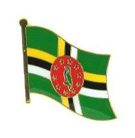 Flaggen Pin Fahne Dominica Pins NEU Anstecknadel Flagge