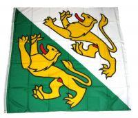 Fahne / Flagge Schweiz - Thurgau 120 x 120 cm