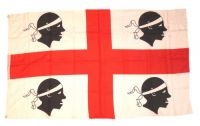 Fahne / Flagge Italien - Sardinien 90 x 150 cm