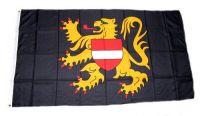 Fahne / Flagge Belgien - Flämisch Brabant 90 x 150 cm