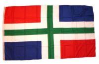 Fahne / Flagge Niederlande - Groningen 90 x 150 cm
