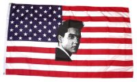 Fahne / Flagge USA - Elvis 90 x 150 cm