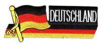Fahnen Sidekick Aufnäher Deutschland