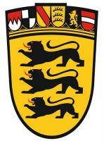 Wappenschild Aufkleber Sticker Baden Württemberg