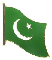 Flaggen Pin Pakistan NEU Fahne Flagge Anstecknadel