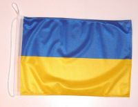 Bootsflagge Ukraine 30 x 45 cm