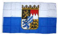 Flagge / Fahne Freistaat Bayern Dienstflagge Hissflagge 90 x 150 cm