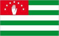 Flagge / Fahne Abchasien Hissflagge 90 x 150 cm