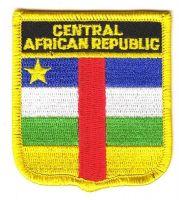 Wappen Aufnäher Fahne Zentralafrikanische Republik