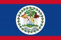 Fahnen Aufkleber Sticker Belize