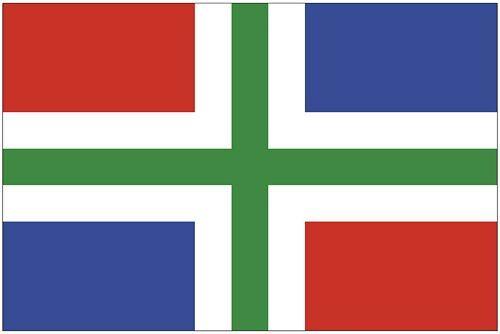 Fahnen Aufkleber Sticker Niederlande - Groningen