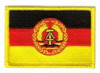 Fahnen Aufnäher DDR - NVA Volksarmee