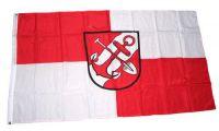 Flagge / Fahne Brunsbüttel Hissflagge 90 x 150 cm