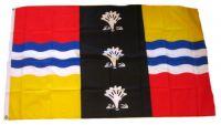 Fahne / Flagge England - Bedfordshire 90 x 150 cm