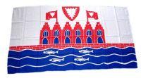 Fahne / Flagge Heiligenhafen 30 x 45 cm