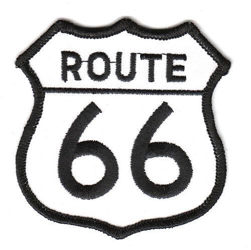 Aufnäher Patch Route 66
