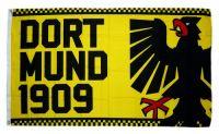 Fahne / Flagge Dortmund 1909 Adler 90 x 150 cm