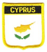Wappen Aufnäher Fahne Zypern