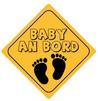 Autoaufkleber Sticker Achtung Baby an Bord NEU Aufkleber