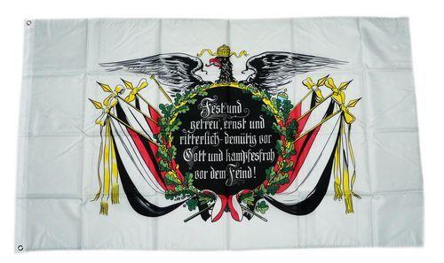 Fahne / Flagge Deutsches Reich Fest und Getreu 90 x 150 cm