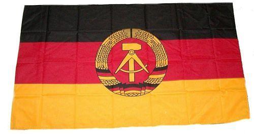 Fahne / Flagge DDR 30 x 45 cm