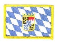 Fahnen Aufnäher Freistaat Bayern Wappen