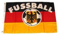 Fahne / Flagge Deutschland Fußball 60 x 90 cm