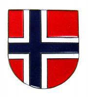 Pin Anstecker Norwegen Wappen Anstecknadel