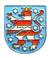 Pin Thüringen Wappen Anstecker NEU Anstecknadel