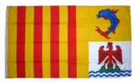 Fahne / Flagge Frankreich - Provence Alpes Côte d'Azur 90 x 150 cm