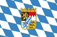 Fahnen Aufkleber Sticker Freistaat Bayern Wappen