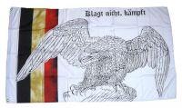 Fahne / Flagge Klagt nicht kämpft Adler 90 x 150 cm