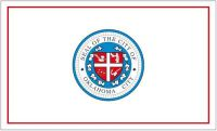 Fahne / Flagge USA - Oklahoma City 90 x 150 cm