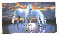 Fahne / Flagge Pferde 90 x 150 cm