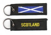 Fahnen Schlüsselanhänger Schottland