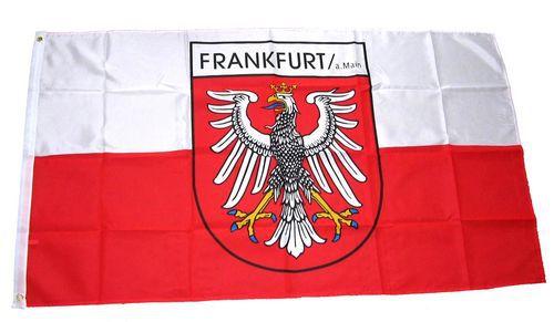 Flagge / Fahne Frankfurt am Main Hissflagge 90 x 150 cm